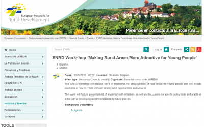 Making rural areas more attractive for young people