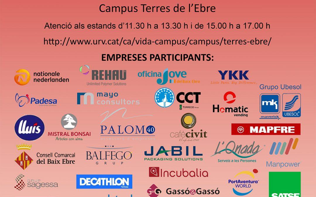 Fòrum d'Ocupació Universitària a les Terres de l'Ebre