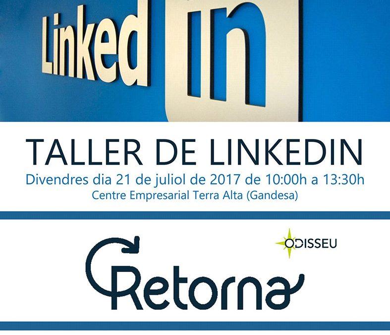 Taller de LinkedIn al Centre Empresarial Terra Alta