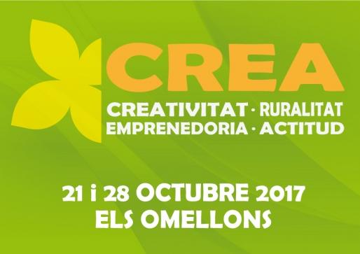 Jornades CREA. Creativitat, Ruralitat, Emprenedoria i Actitud.