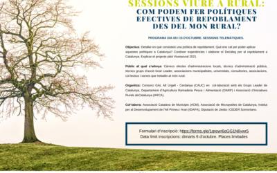 Jornades Viure a Rural: Com podem fer polítiques efectives de repoblament des del món rural?