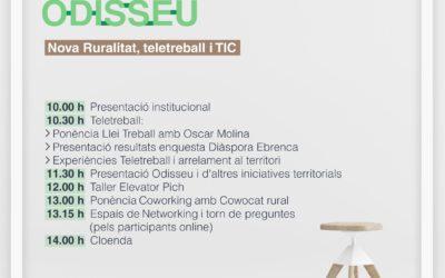 NETWORKING-ODISSEU-Nova ruralitat, teletreball i TIC Amposta